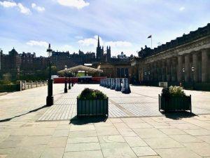 Edinburgh Mound April 2020